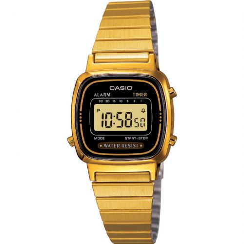 Casio Collection Gold Plated Unisex LA670WEGA-1EF Watch